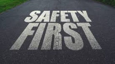 Safety is a choice you make: Stay alert!
