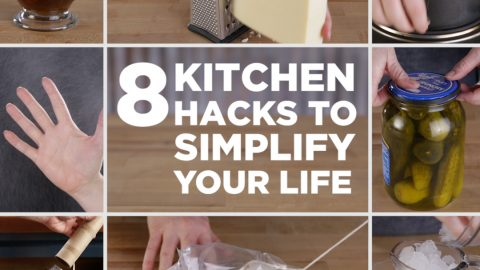 Kitchen hacks that will make your life easier!